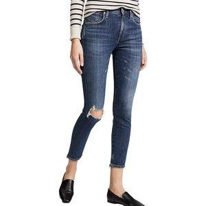 Agolde Sophie Hi Rise Skinny Ankle Jeans